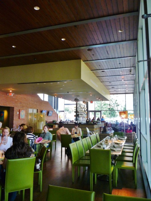 Interior view of The Grove before it got really busy with customers.
