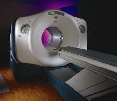 This is a Cat Scan machine