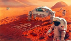 Take a Trip to Mars in a Spaceship Running on Antimatter