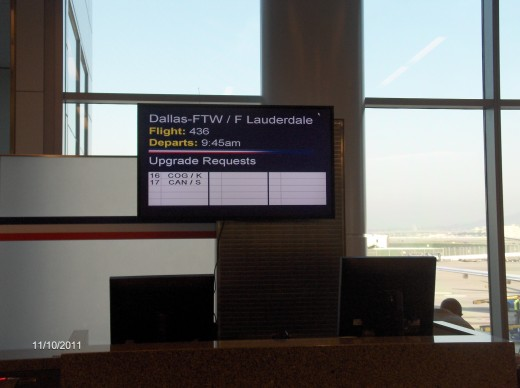 Whew!  Made it to the gate.