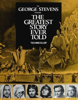 The Greatest Story Ever Told (1965) poster
