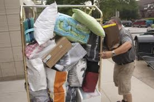 Moving into a college dorm can be exciting for your son or daughter, but can you handle it