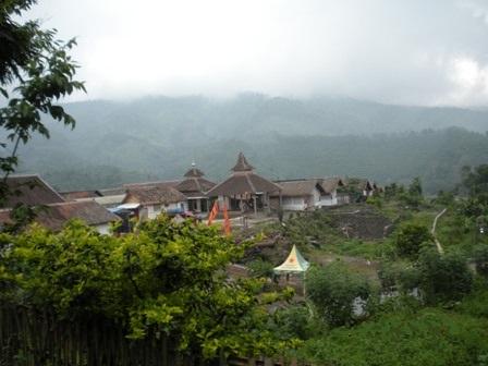 Dormitories of coffee plantation workers in Blawan.