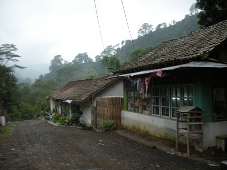 Dormitories of coffee plantation workers