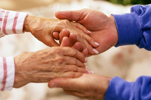 Focus on a career of helping the elderly and those who cannot help themselves.