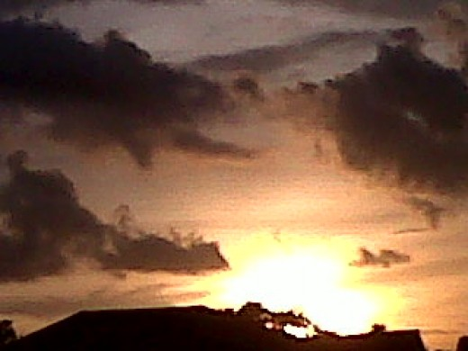"""Arena Sunset """
