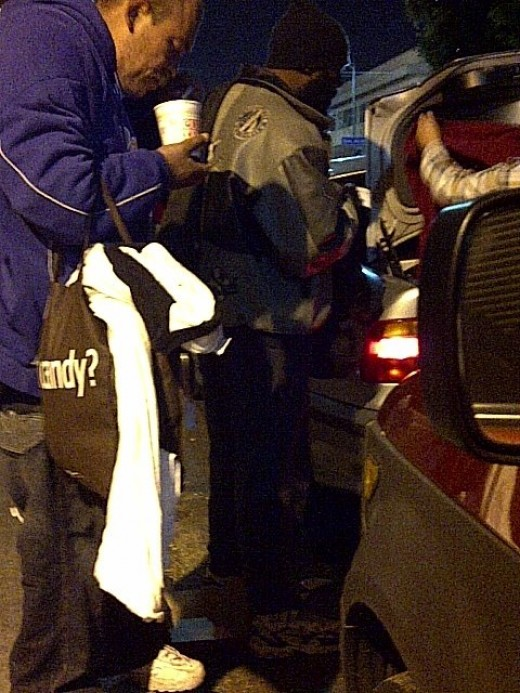 Feeding and clothing the homeless
