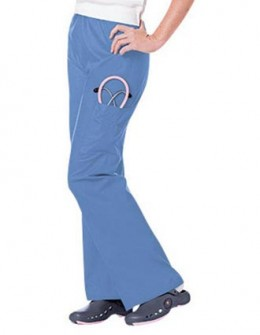 Urbane Women Three Pocket Tall Cargo Medical Scrub Pants
