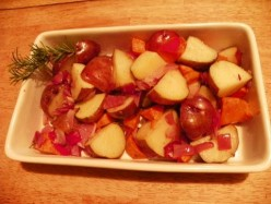 Red Potatoes Taste Great Cooked With Fresh Rosemary