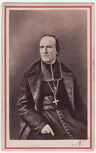 The Archbishop of Paris in 1871