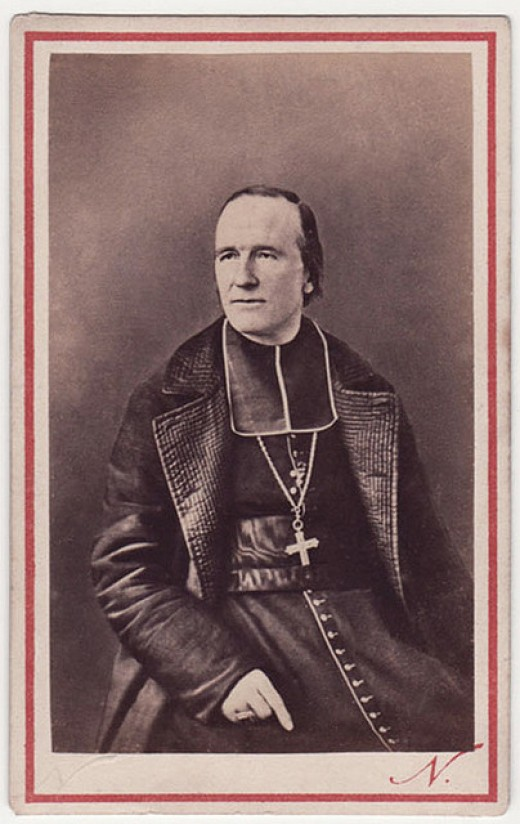 The Archbishop of Paris in 1871