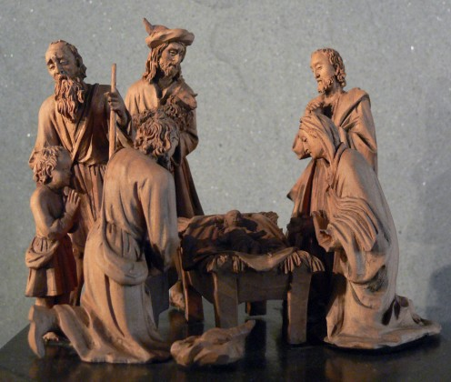 Woodcarving - Nativity Group