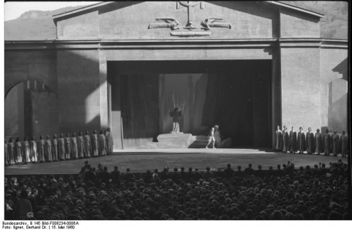 The Stage of the Passion Play  in 2000
