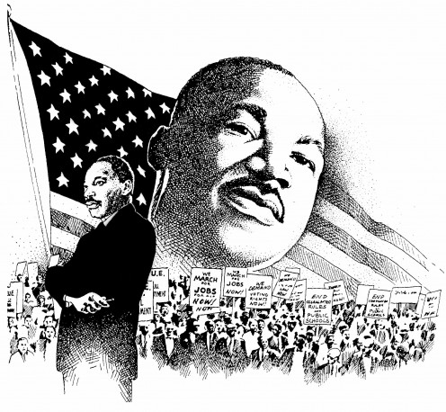 Martin Luther King- Died for his cause at the hand on racism.