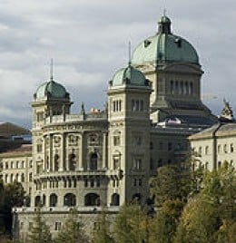 The Federal Palace, seat of the Federal Assembly and the Federal Council.
