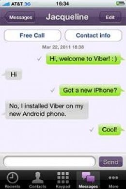 Viber and VoIP
