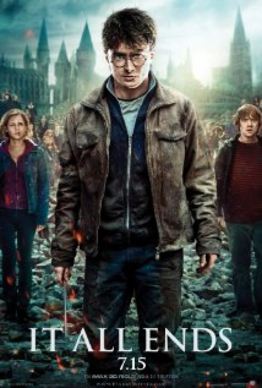Harry Potter and the Deathly Hallows Part 2 promotional poster