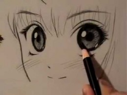 Mark Crilley's Manga eyes drawing