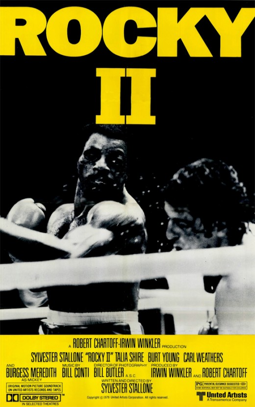 Rocky II Promotional Poster