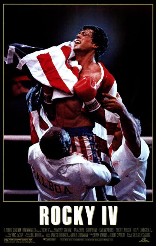Rocky IV Promotional Poster - Go America!