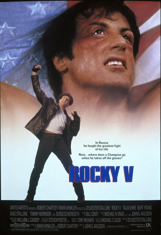 Rocky V Promotional Poster - V is not for Victory