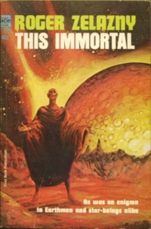 This Immortal is Roger Zelazny's first novel.  He won a Hugo for it.