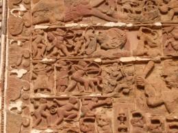 Exquisite terracotta work
