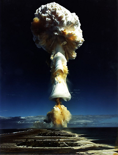 Nuclear Bomb from Shirley Two Feathers Source: flickr.com
