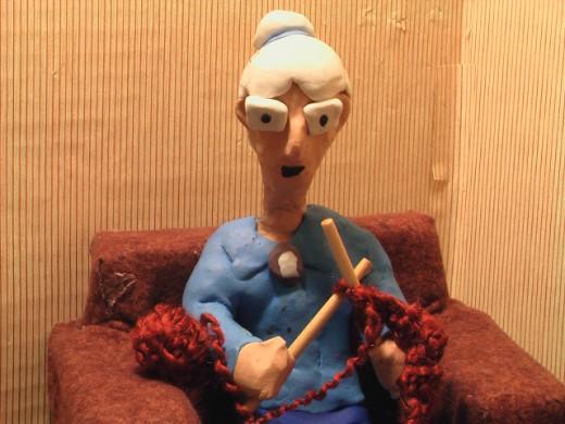 Nanny Knitting