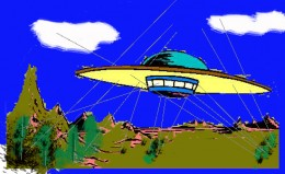 Alien flyover