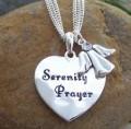 Serenity Prayer AA Necklace