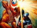 Avengers Versus The X-Men 2012! Wolverine Versus Captain America! Who Would Win?