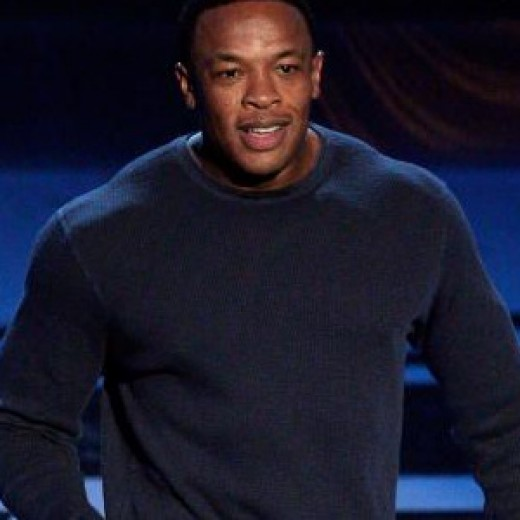 Dre's ripped!