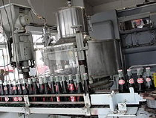 The Dublin Bottling Works interior, back in the days of Dr. Pepper.