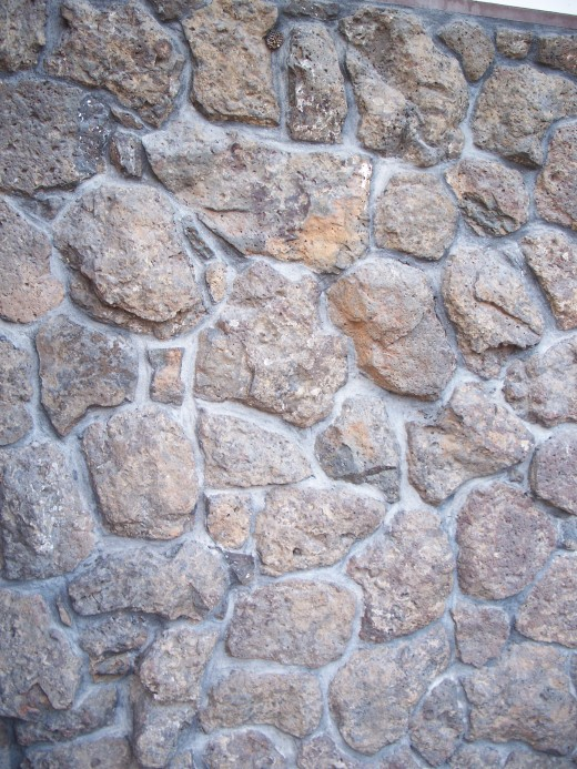ROCK WALL BARRIER  PROTECTION
