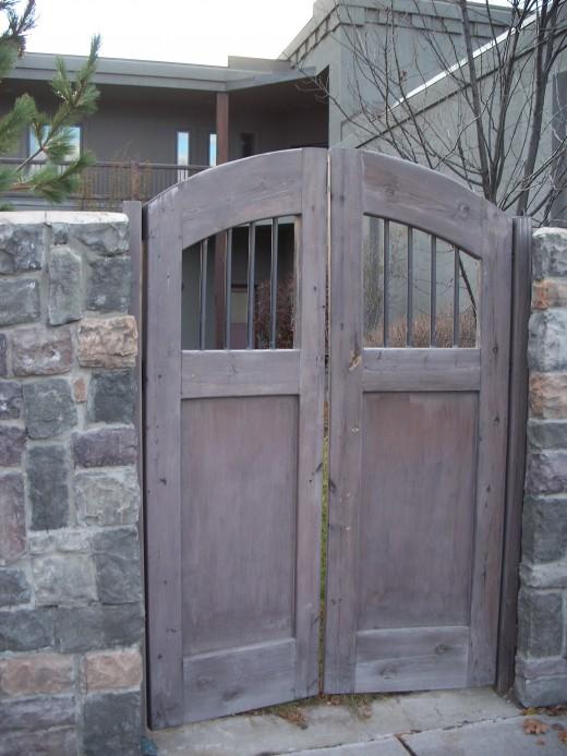 Gated Yard