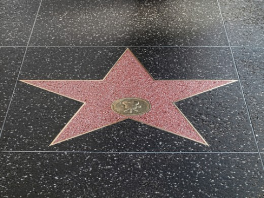 A star on the Hollywood Walk of Fame awaits!