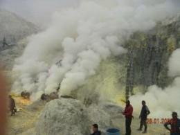 Mining site.