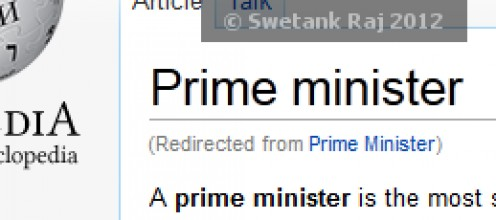 If I were the Prime Minister
