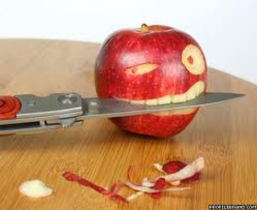 Apple a good teether