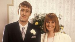 Rodney and Cassandra - love at last for the soppy tart.  Casandra was played by Gwyneth Strong