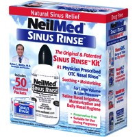 NeilMed's Sinus Rinse.  This is the product I use.