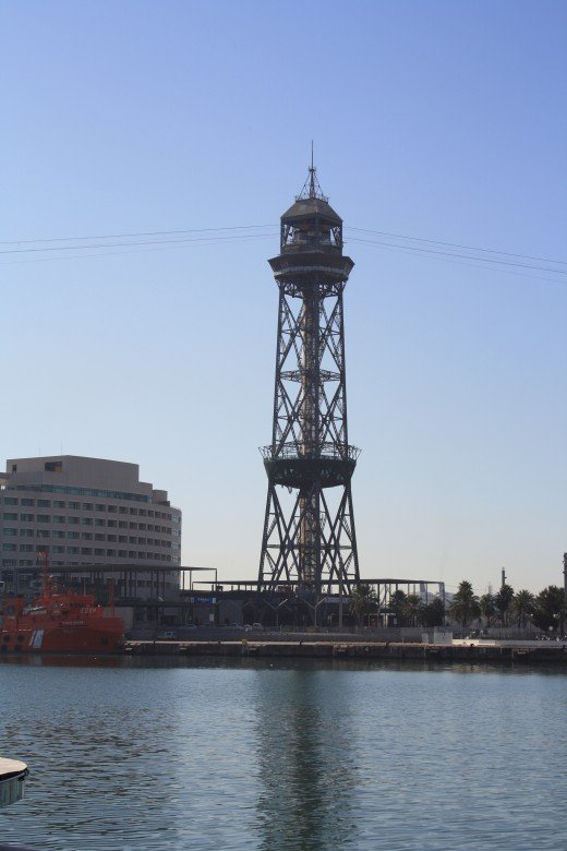 The Port of Barcelona, Spain