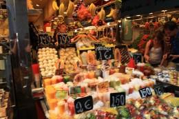 La Boqueria Market, Barcelona, Spain