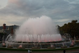 Magic Fountain of Montjuic Show, Barcelona, Spain