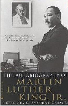 Autobiography of Martin Luther King, Jr. Book Jacket | image credit: Amazon | photo by Charles Moore/BLACK STAR