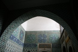 Tiled arches and arch designs are very common in Islamic architecture.
