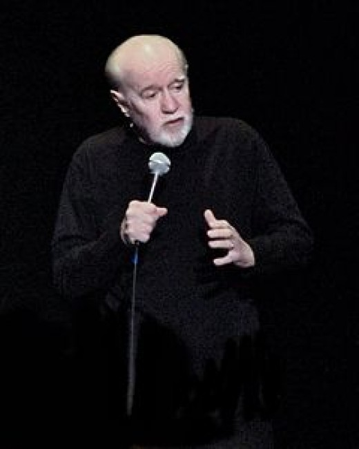 G.D.P. Carlin in April 2008, shortly before the cumulative F-bomb exposure caused his demise.