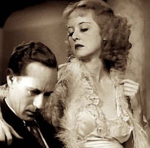 """Bette Davis earned fame playing the role of Mildred Rogers, a classic bitch, in the movie """"Of Human Bondage"""" (1934)"""