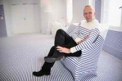 The Haute couture Designer Jean Paul Gaultier .